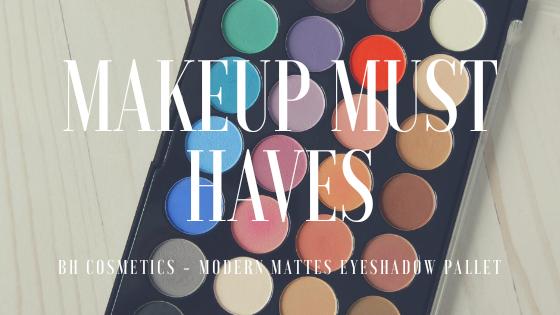 Makeup Must Haves – Matte EyeshadowPallet
