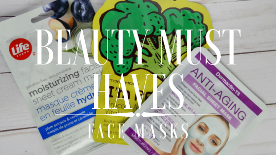 Beauty Must Haves: FaceMasks